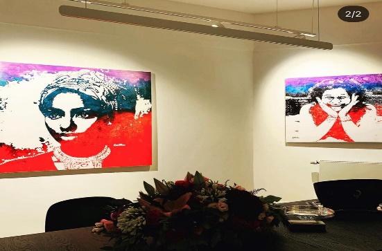 L'artiste plasticien Ivoirien Atowla frappe fort en Allemagne en ce moment